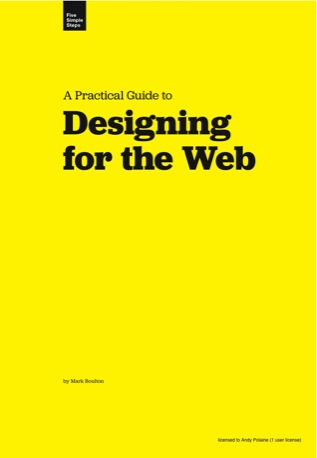 Designing for the Web - Cover