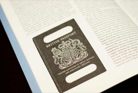 Parenthesis - Reynolds Stone's design for the UK Passport