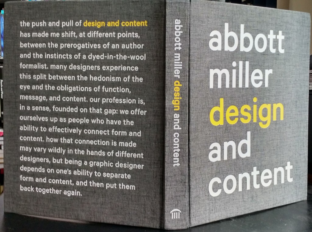 Abbott Miller: Design and Content | Designer's Review of Books
